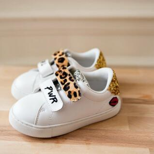 Chaussures fille Bons Baisers de Paname Edith Barbie-Girl Power