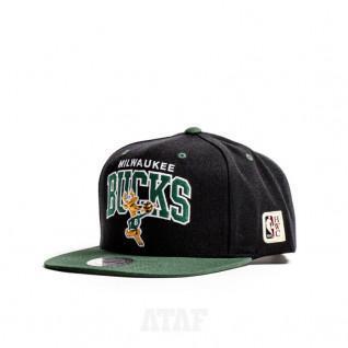 Casquette Milwaukee Bucks hwc team arch