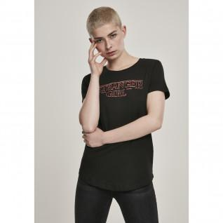 T-shirt femme Mister Tee tranger girl