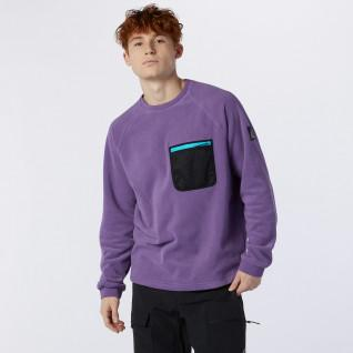 Sweatshirt poche New Balance all terrain crew