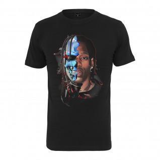 T-shirt Mister Tee half face