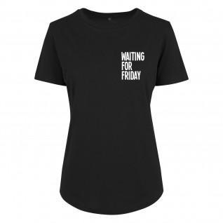 T-shirt Urban Classics Waiting For Friday Fit Tee
