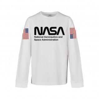T-shirt manches longues enfant Mister Tee nasa worm