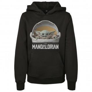 Sweatshirt enfant Mister Tee the mandalorian child pod