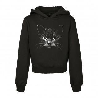 Sweatshirt enfant Mister Tee black cat