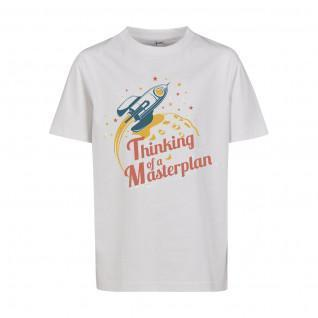 T-shirt enfant Mister Tee thinking of a masterplan