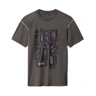 T-shirt Napapijri Kee Grey Gargoyle