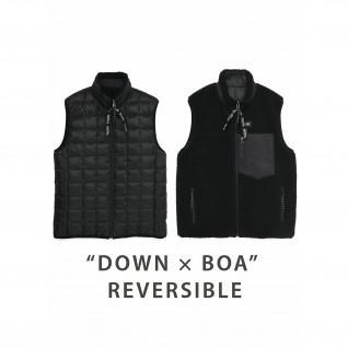 Veste en duvet réversible Down x Bore Taion