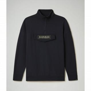 Sweatshirt demi-zippé Napapijri B-patch