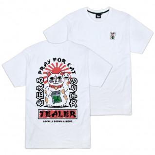 T-shirt Tealer Pray for cat