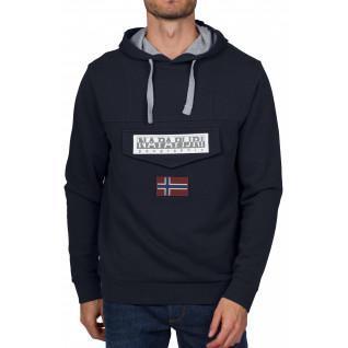 Sweatshirt à capuche Napapijri Burgee