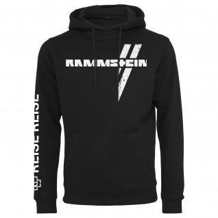 Sweatshirt avec capuche Rammstein rammstein weißes kreuz