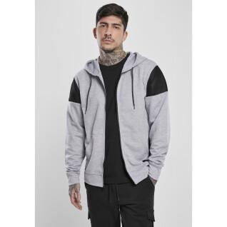 Sweatshirt full zip Southpole neoprene fleece