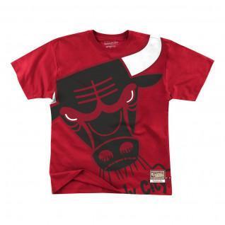 T-shirt Chicago Bulls big face bulls