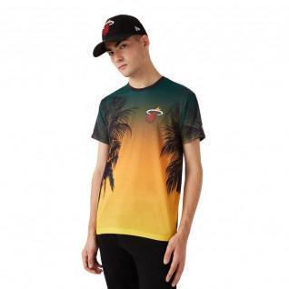 T-shirt New Era NBA Miami Heat Aop summer city