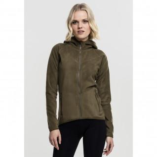 Sweatshirt femme Urban Classic polar fleece zip