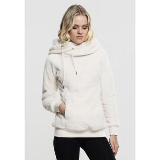 Sweatshirt femme Urban Classic long teddy