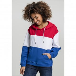 Sweatshirt femme Urban Classic Oversized 3-tone