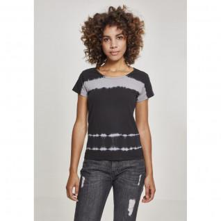 T-shirt femme Urban Classic Striped Lace