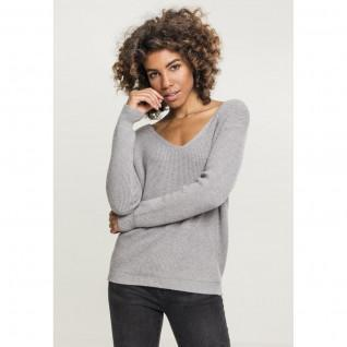 Sweatshirt femme Urban Classic back lace up GT