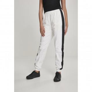 Pantalon femme Urban Classic striped crinkle GT