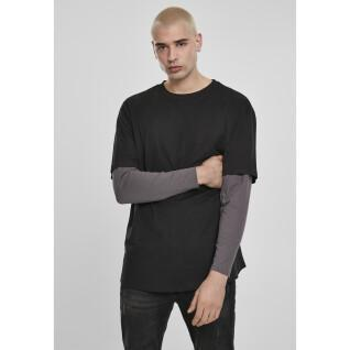 T-shirt Urban Classic Oversized shaped double layer