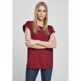 T-shirt femme Urban Classics organic extended shoulder