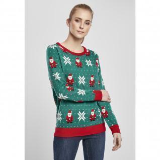 Sweatshirt femme Urban Classics santa christmas