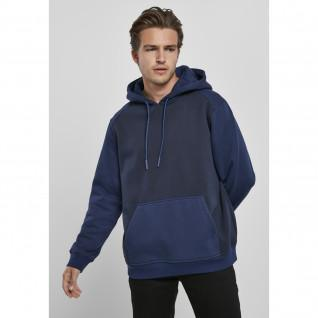Sweatshirt à capuche Urban Classics 2-tone fake raglan