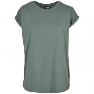 T-shirt femme Urban Classics Extended Shoulder Tee