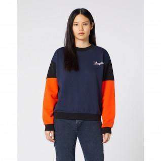 Sweatshirt femme Wrangler High Rib Retro