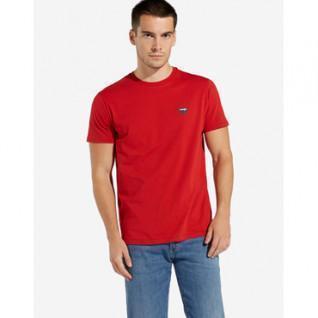 T-shirt manches courtes Wrangler scarlet