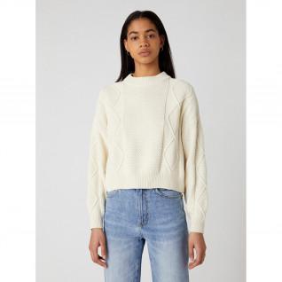 Pull femme Wrangler Cable Knit