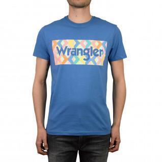 T-shirt Wrangler summer logo