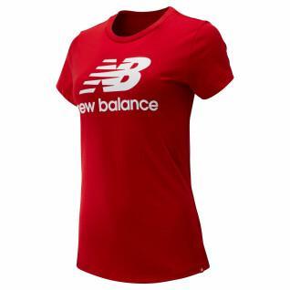 T-shirt femme New Balance essentials stacked