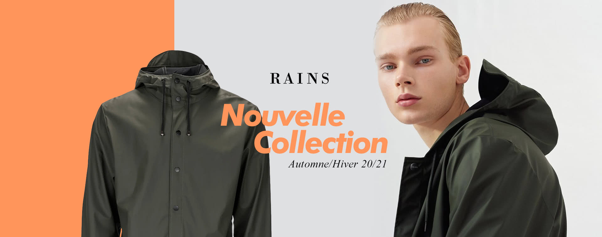 Vêtements imperméable RAINS